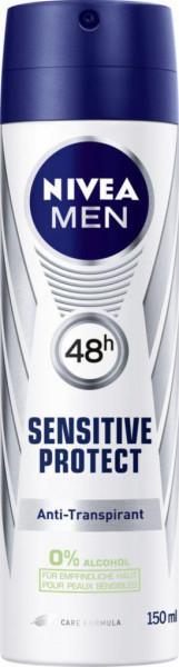 Anti-Transpirant Deo Spray, Sensitiv Protect Men
