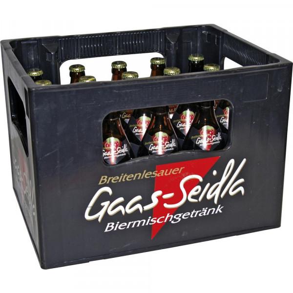 Biermischgetränk, Gaas-Seidla 2,7% (20 x 0.5 Liter)