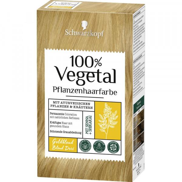 "Pflanzenhaarfarbe ""Vegetal"", Goldblond"