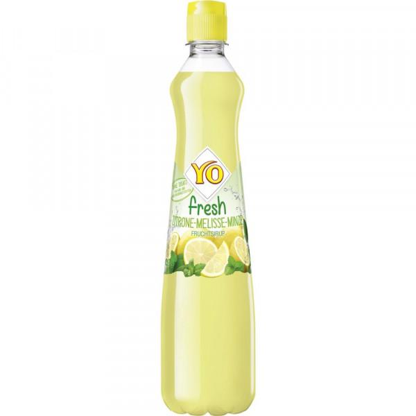 Fresh Zitrone-Melisse-Minze Sirup