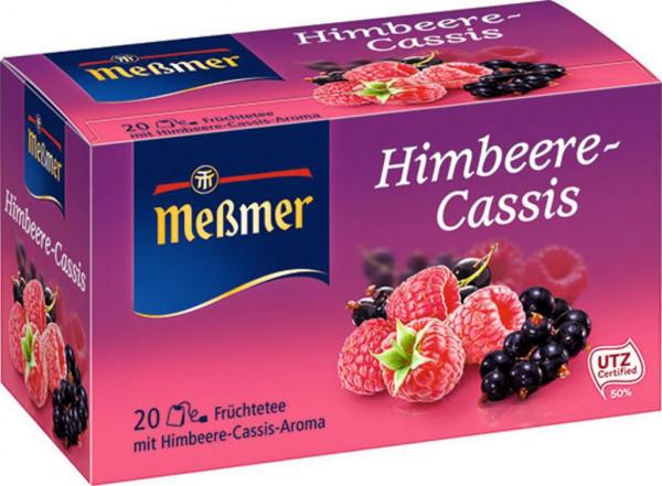 Früchtetee, Himbeere/Cassis