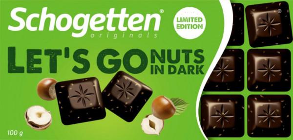 Tafelschokolade, Let´s go Nuts in Dark