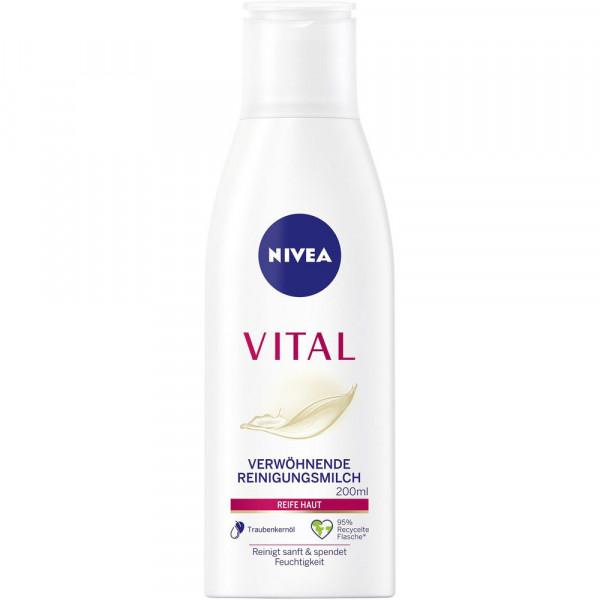 Vital Reinigungsmilch, reife Haut