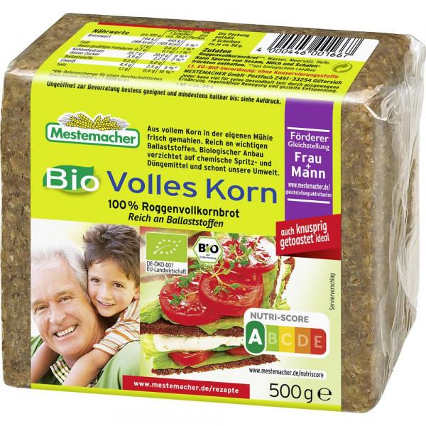 Bio Volles-Korn-Brot