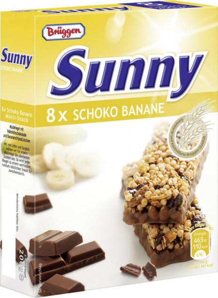 "Müsliriegel ""Sunny"", Schoko-Banane"