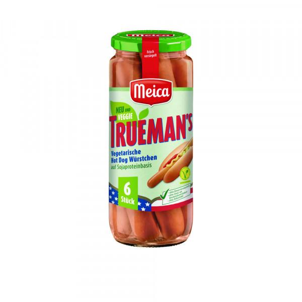 """Hot-Dog Würstchen """"Trueman's"""", vegetarisch"""