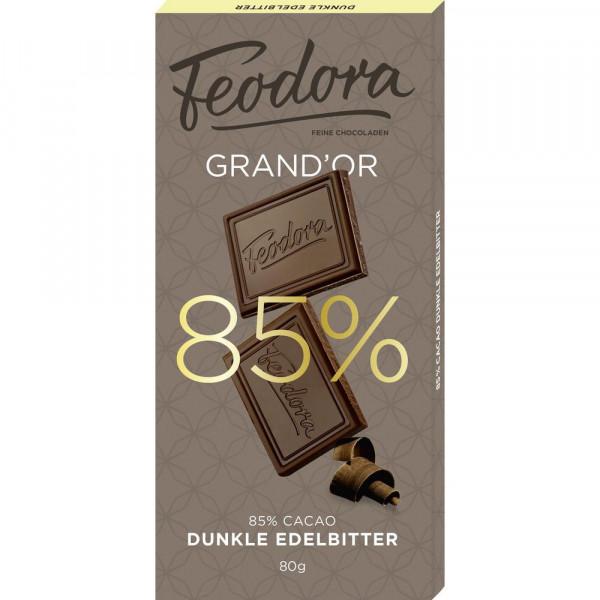 "Tafelschokolade ""Edelbitter"" 85%"