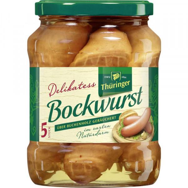 Delikatess Bockwurst, Original
