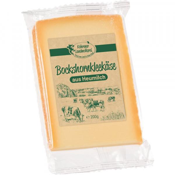 Heumilch Bockshornklee Käse