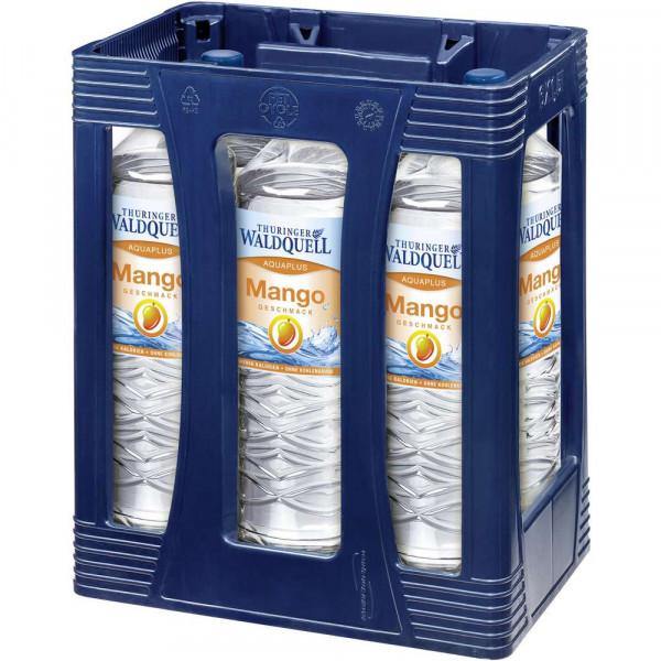 Aquaplus Mango Mineralwasser, Naturelle (6 x 1.5 Liter)