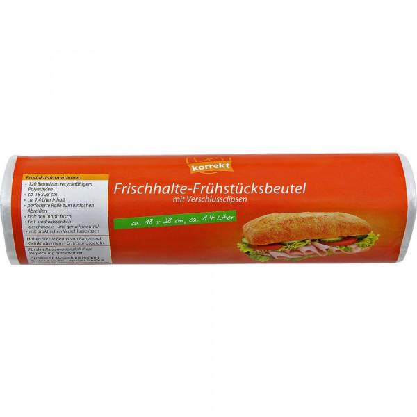 Frühstücksbeutel m. Knotenverschluss