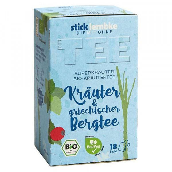 "Bio Kräuter-Tee ""Der Tee"", Kräuter & griechischer Bergtee"