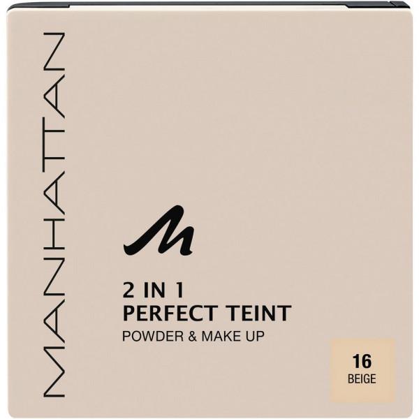 Puder Perfect Teint, 2 in 1 Powder & Make Up, Beige 16