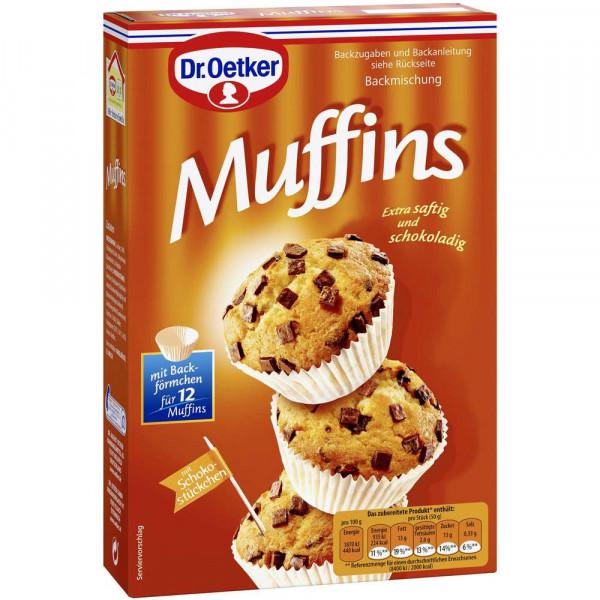 Backmischung, Muffins