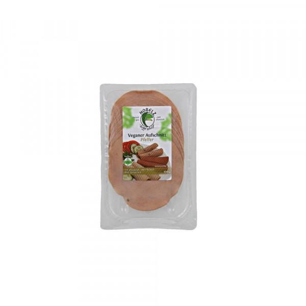 Veganer Soja-Aufschnitt, Pfeffer