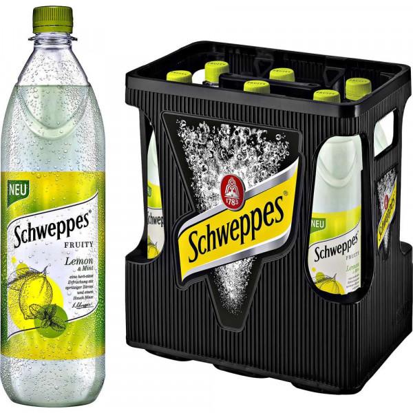 """Limonade """"Fruity Lemon"""" (6 x 1 Liter)"""
