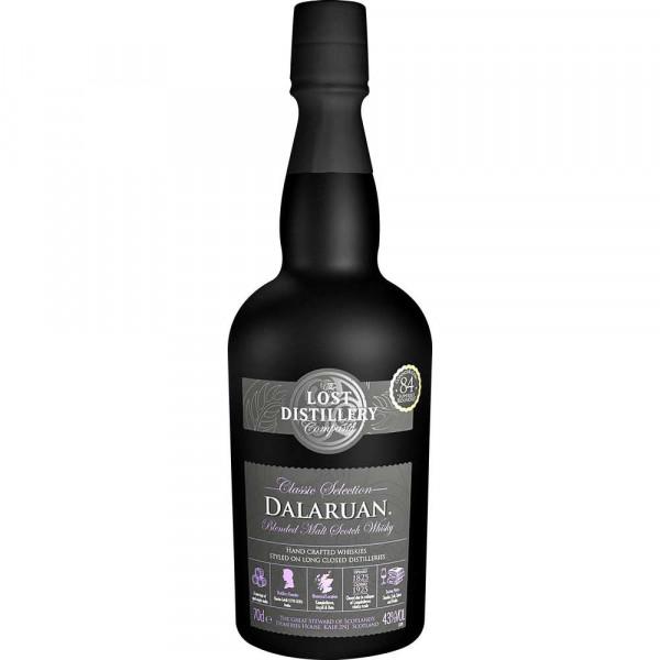 Dalaruan Blended Malt Scotch Whisky 43%