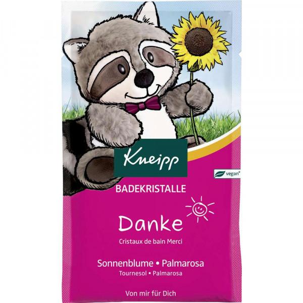 """Badezusatz """"Danke"""", Sonnenblume/Palmarosa"""