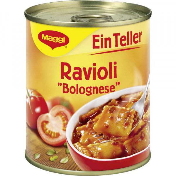 """Eintopf """"Ein Teller"""", Ravioli Bolognese"""