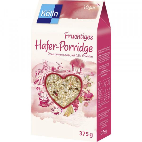 Hafer-Porridge, Früchte