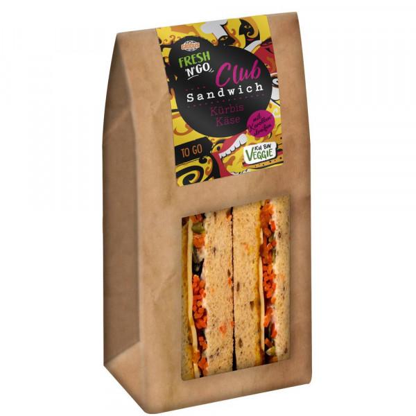 Club Sandwich Käse-Kürbis