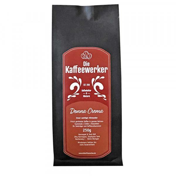 """Kaffee """"Donna Crema"""", ganze Bohne"""