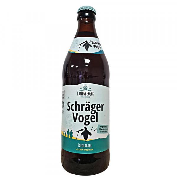 Schräger Vogel Export Bier 5,3% (20 x 0.5 Liter)