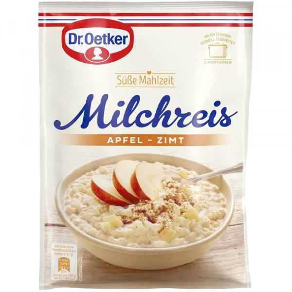 Milchreis, Apfel-Zimt