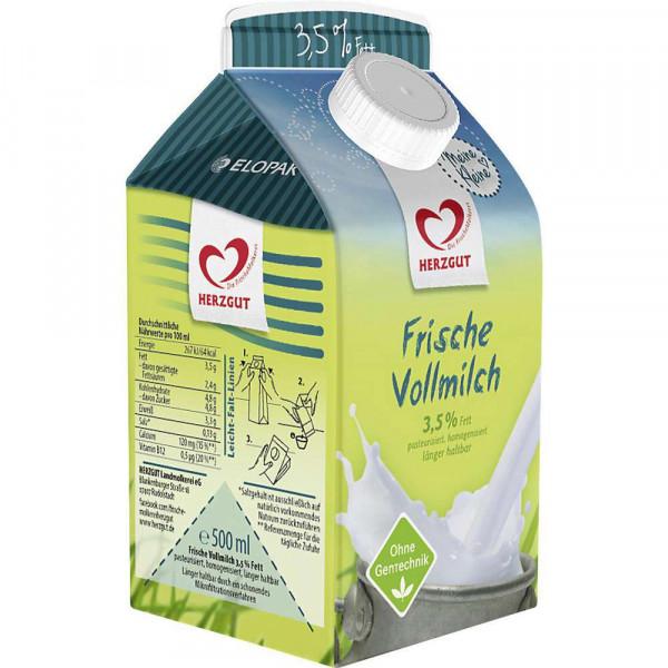 Frische Milch, länger haltbar 3,5% Fett