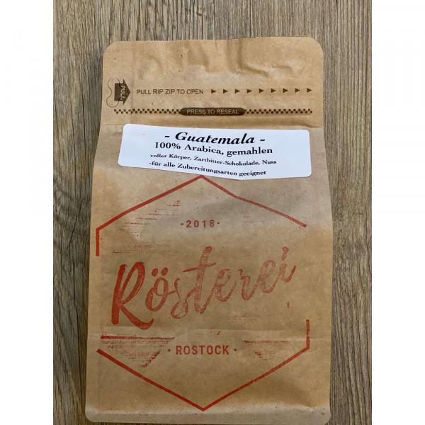Kaffee Guatemala gemahlen