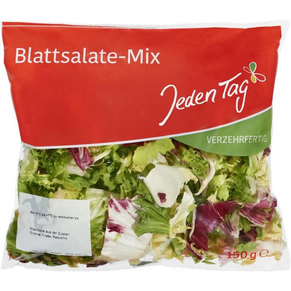 Blattsalat-Mix, verzehrfertig