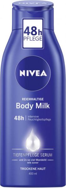 Body Milk, reichhaltige Körperlotion
