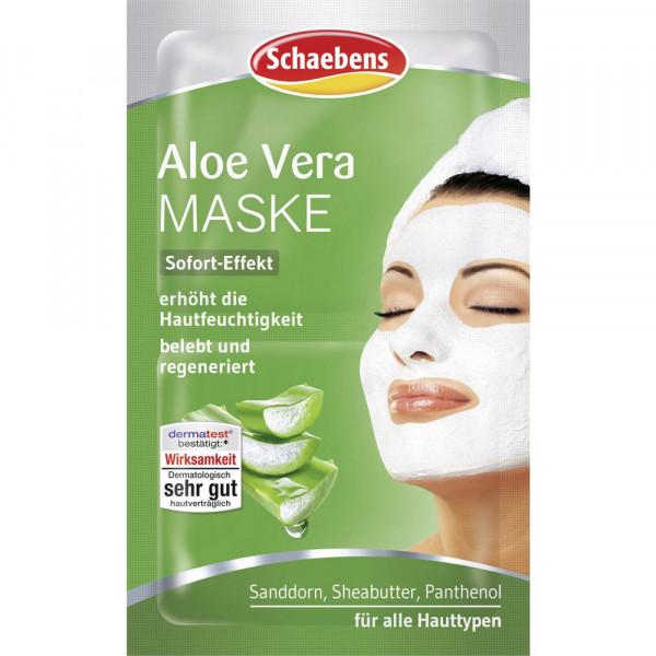 Maske, Aloe Vera