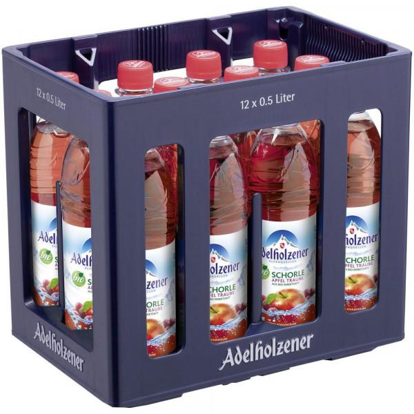 Bio Apfel-Trauben Schorle (12 x 0.5 Liter)