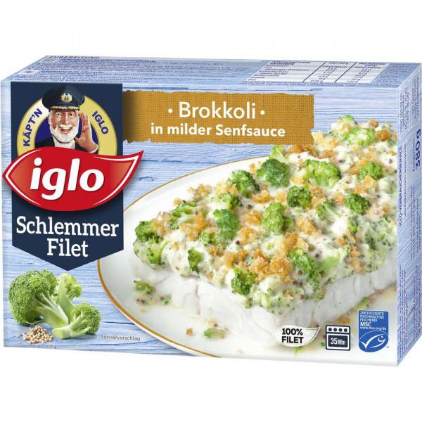 "Schlemmer-Filet ""Brokkoli in milder Senfsauce"", tiefgekühlt"