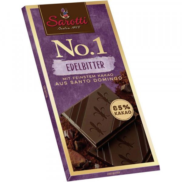 """Tafelschokolade """"No. 1"""" Kakao 85%"""