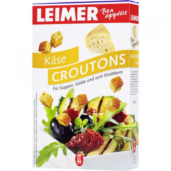 Croutons, Käse
