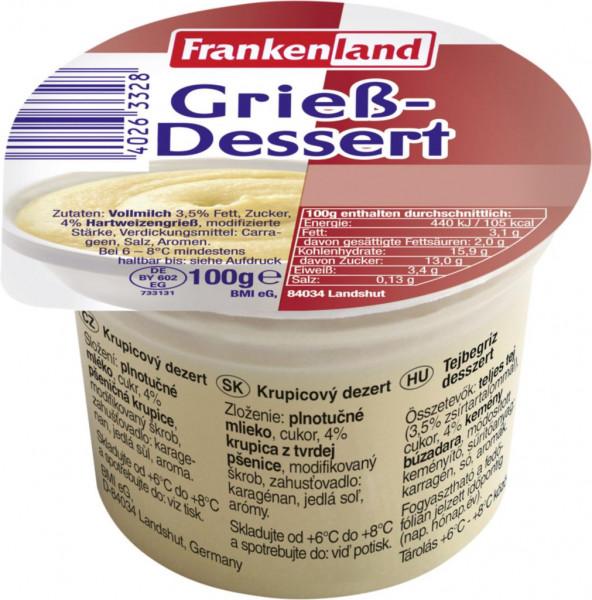 Grieß-Dessert