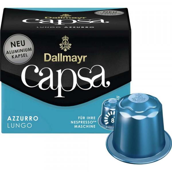 """Kaffee Kapseln """"Capsa"""", Lungo Azzurro"""