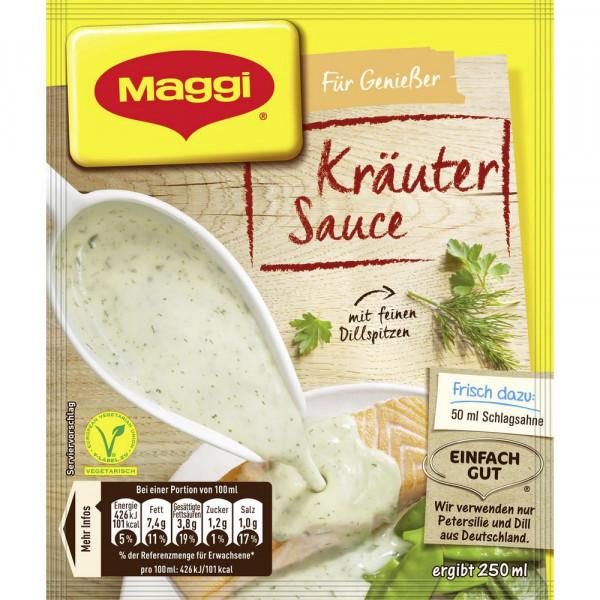 Genießer Sauce, Kräuter