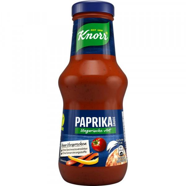 Paprika Sauce Ungarische Art
