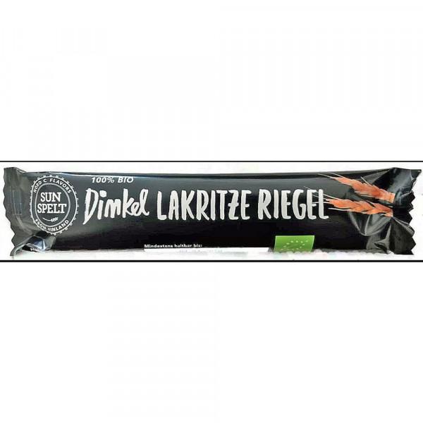 Bio Dinkel Lakritze Riegel