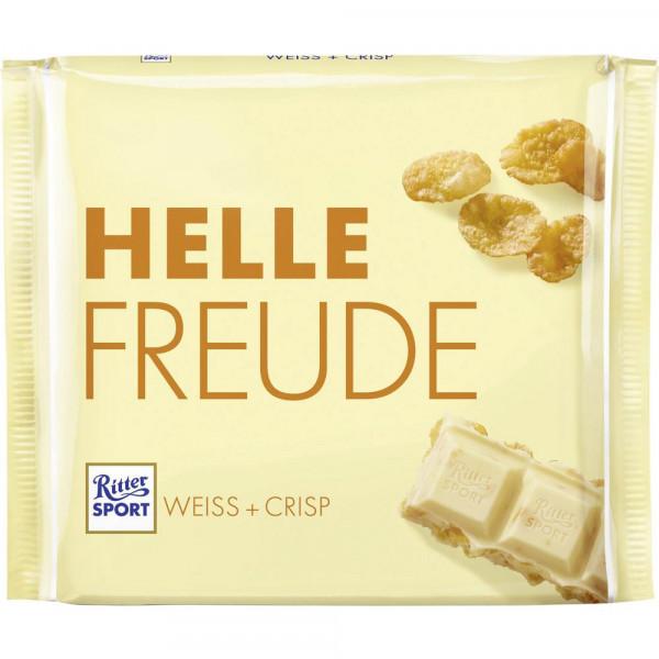Tafelschokolade, Weiße Crisp