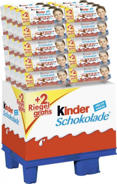 Schoko Riegel +2 (240 x 150 Gramm)