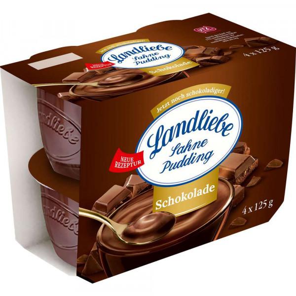 Sahnepudding, Schokolade
