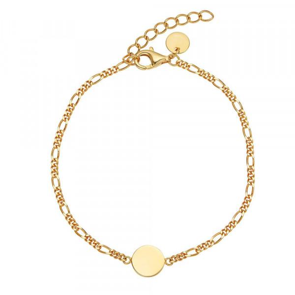 Damen Armband aus Silber 925, vergoldet (4056874025096)