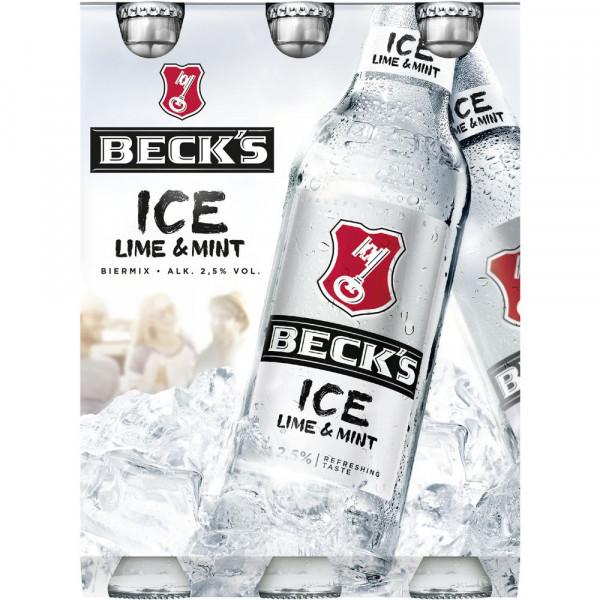 "Biermischgetränk ""Ice"", Lime & Mint 2,5%, 6 x 0,33l (1 x 1.98 Liter)"