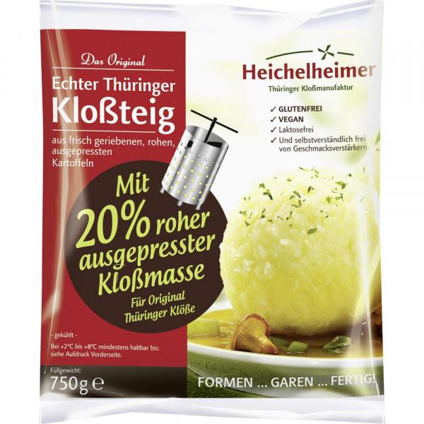Original Thüringer Kloßteig mit Kartoffelmasse