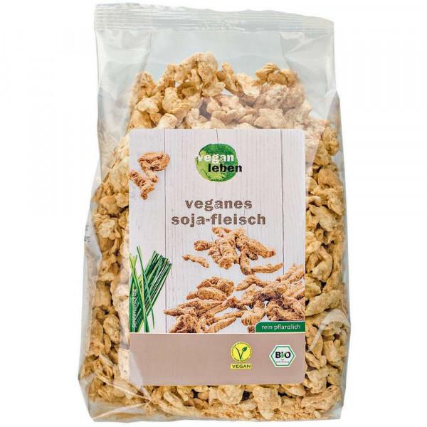 Bio Soja-Fleisch, vegan
