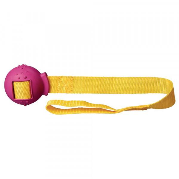 "Hundespielzeug ""Ball am Gurt"", 6x48cm"